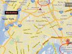 JFK and LGA Airport, Manhattan distance