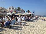 Must see Richie Alexander at Popeye Bar Playa Mil Palmeras15 mis drive