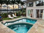Shared pool with Sea Breeze Manor