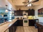 Full kitchen also features updated appliances