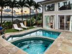 Shared pool with the Sea Breeze House