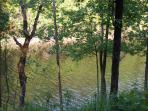 Lake front fishing spot
