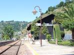 Aregos train station
