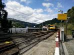House is accessible from Aregos train station
