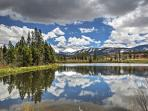 Gorgeous scenery can be found in every direction surrounding this Fraser vacation rental condo!