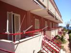 terrazzo, ingresso