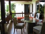 Balcony in apartment Kembang Jepun 1st Floor
