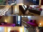 appartement  avec une mezzanine 2 chambres