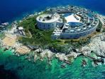 Mamula Island - a short boat trip away