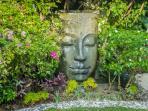 Buddha statue in Villa Balissima