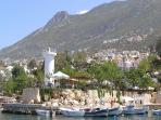 Kalkan's sleepy harbour