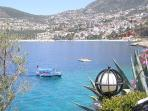 Shuttle boat to Kalkan Town and Harbour