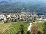 panorama paese di Lasino