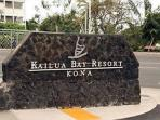 Kailua Bay Resort Entrance