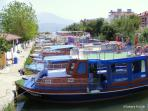 Water taxi to Fethiye