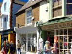 Harbour Street's independent shops are on your doorstep