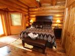 #2 Bedroom king size bed main floor river views