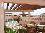 Roof Top Terrace Comfortable living room