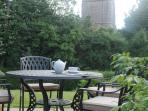 Enjoy afternoon tea relaxing in the beautiful cottage garden