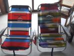 FREE beach chairs + FREE beach towels!