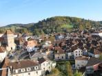Salies has a completely intact 17th century town centre
