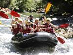 Rafting at Sauveterre, 15 minutes by car