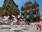 Pamplona, Spain, 2 hours by car