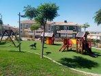 Zona infantil dentro de la urbanizacion