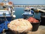 Pescatori al pontile del Fungo