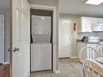 Enjoy access to in-unit washer and dryer.