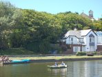Bude Canal- rowing boat hire