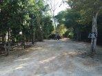 Entrance to the property, casa del arbol