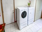 A washer and dryer are available for your use.
