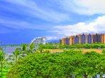 View of Disney's Aulani and Four Seasons Resort