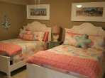 3rd Bedroom with 2 Full Size Double Beds