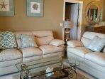 1st Oceanfront Living Room