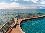 Poipu Shores Ocean Front Pool.