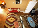 Living Room Photo taken from the loft
