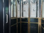 Charming antique elevator