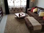 Canapé lit dans le salon