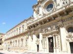Lecce, chiesa di S. Croce XVII sec. a soli 20 km