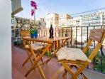cosy and sunny balcony