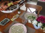 Soirée fruits de mer en tête à tête (70e avec boissons, accompagnements et dessert pour 2pers)