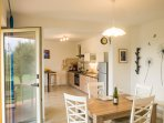 With kitchen and dining room like this, enjoying vacation with local food was never been so easy!