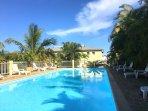 L'Oasis de Terre Rouge - Appartement Acacias - Piscine