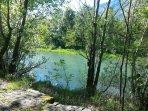 nelle vicinanze: fiume Adda visto dalla pista ciclo-pedonale 'Sentiero Valtellina'