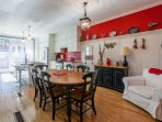 Open Kitchen - Perfect for multi family. Sit 13 that could sit and eat together