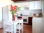 L'Oasis de Terre Rouge - Appartement Hévéa - Cuisine