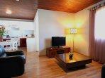 L'Oasis de Terre Rouge - Appartement Hévéa - Séjour