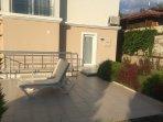 Patio/garden area to side door